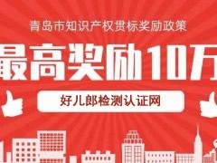 2019山东省青岛市知识产权贯标奖励政策汇总